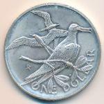 Виргинские острова, 1 доллар (1973 г.)