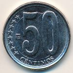 Венесуэла, 50 сентимо (2007–2012 г.)