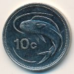 Мальта, 10 центов (1995–2006 г.)