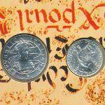 Италия, Набор монет (1989 г.)