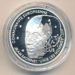 Франция, 100 франков - 15 экю (1992 г.)