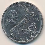 Новая Зеландия, 1 доллар (1969 г.)