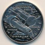 Гибралтар, 2,8 экю (1993 г.)