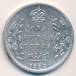 Британская Индия, 1 рупия (1903 г.)