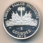 Гаити, 5 гурдов (1970 г.)