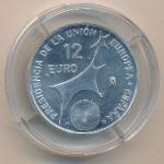 Испания, 12 евро (2002 г.)