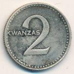 Ангола, 2 кванзы (1977 г.)