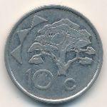 Намибия, 10 центов (1993 г.)