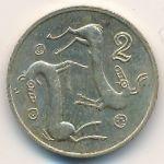 Кипр, 2 цента (1992–1998 г.)