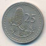 Кипр, 25 мил (1974 г.)