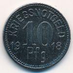 Апольда., 10 пфеннигов (1918 г.)