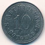 Бакнанг., 10 пфеннигов (1918 г.)