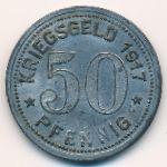 Графрат., 50 пфеннигов (1917 г.)