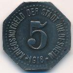 Хильдесхайм., 5 пфеннигов (1918 г.)