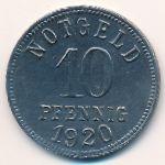 Киссинген., 10 пфеннигов (1920 г.)