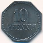 Швальбах., 10 пфеннигов (1919 г.)