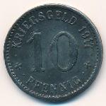 Изерлон., 10 пфеннигов (1917 г.)