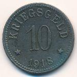 Лор-ам-Майн., 10 пфеннигов (1918 г.)