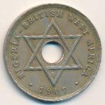 Британская Западная Африка, 1 пенни (1907–1910 г.)