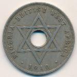 Британская Западная Африка, 1 пенни (1910 г.)