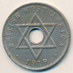 Британская Западная Африка, 1 пенни (1919–1920 г.)