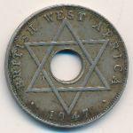 Британская Западная Африка, 1/2 пенни (1947 г.)