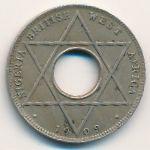 Британская Западная Африка, 1/10 пенни (1909 г.)