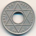 Британская Западная Африка, 1/10 пенни (1949 г.)