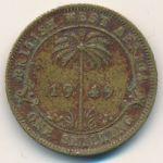 Британская Западная Африка, 1 шиллинг (1949–1952 г.)