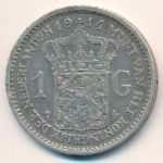 Нидерланды, 1 гульден (1914 г.)