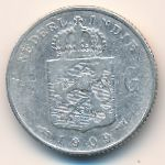 Netherlands East Indies, 1/4 gulden, 1903–1909