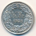 Швейцария, 1/2 франка (1932 г.)