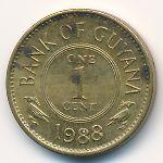 Гайана, 1 цент (1978–1989 г.)