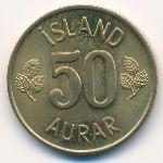 Исландия, 50 эйре (1969–1974 г.)