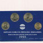 Македония, Набор монет (1993 г.)