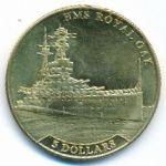 Науру, 5 долларов (2016 г.)