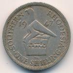 Южная Родезия, 1 шиллинг (1947 г.)