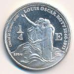 Сен-Мартин, 1/4 евро (2004 г.)