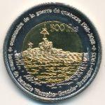 Острова Глорьез, 500 франков (2018 г.)