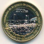 Острова Глорьез, 200 франков (2018 г.)