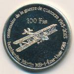 Французские Южные и Антарктические Территории, 100 франков (2015 г.)