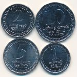 Шри-Ланка, Набор монет (2017 г.)