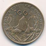 Французская Полинезия, 100 франков (2002 г.)