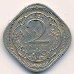 Британская Индия, 2 анны (1940 г.)