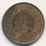 Британская Индия, 1/12 анны (1908–1910 г.)