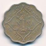 Британская Индия, 1 анна (1907–1910 г.)