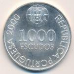 Португалия, 1000 эскудо (2000 г.)