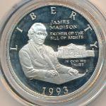 США, 1/2 доллара (1993 г.)