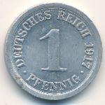 Германия, 1 пфенниг (1917 г.)