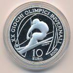 Италия, 10 евро (2005 г.)